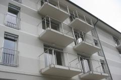 Inox balkonska ograja in francoski balkoni