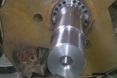 Zamenjava gredi udarnega rotorja