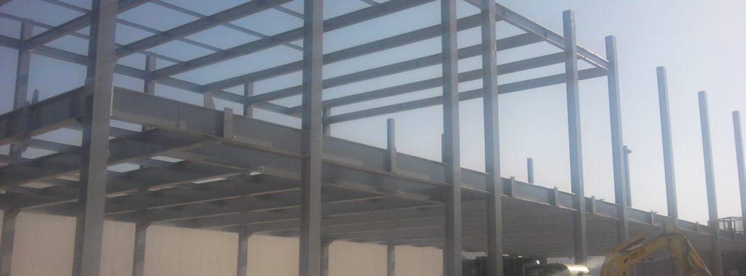 Jeklena konstrukcija industrijski objekt, Insema