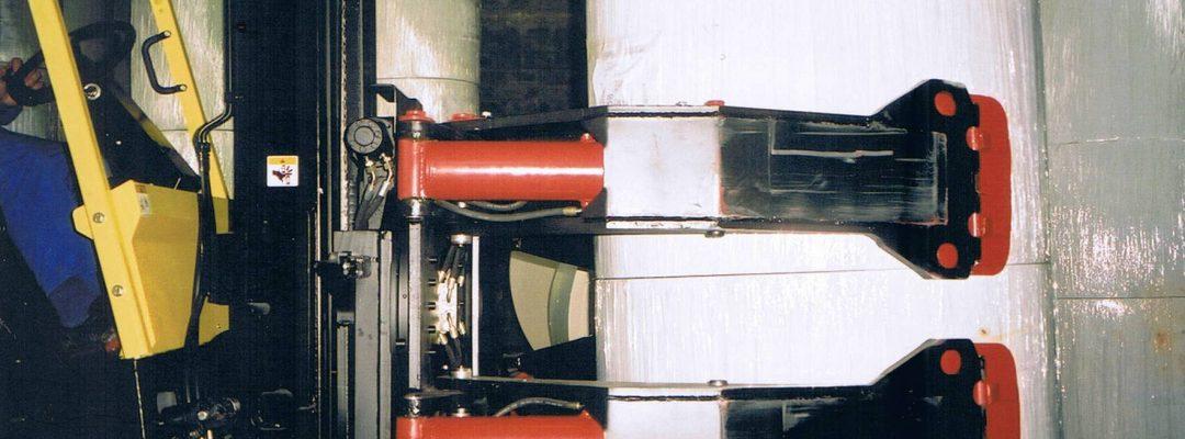 Hidravlične rotacijske klešče za roto papir Insema